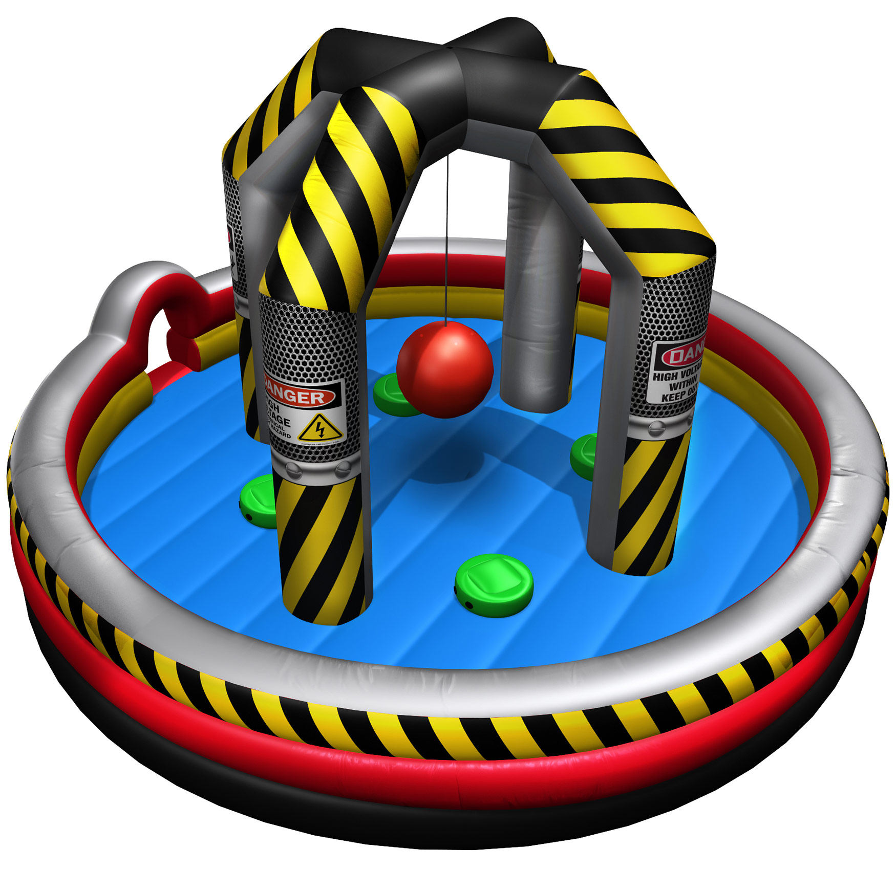 Wrecking Ball Inflatable Game Rental Houston