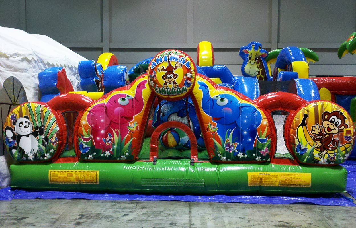 Zoo Animal Toddler Bounce House
