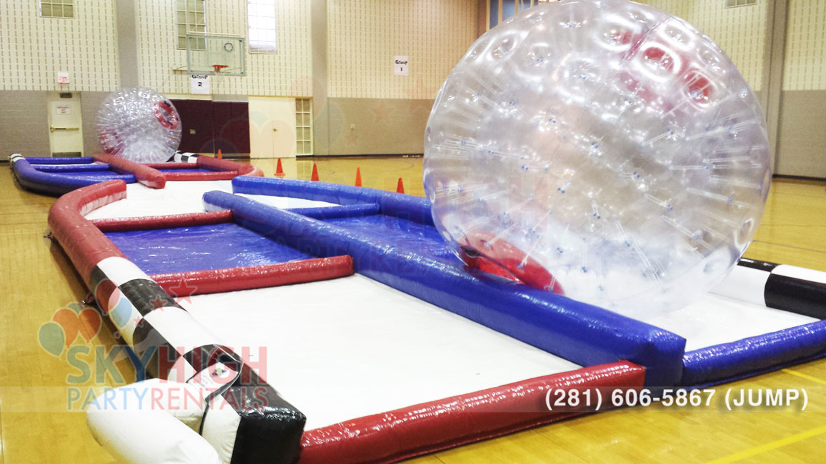Hamster Zorb Ball Obstacle Rental