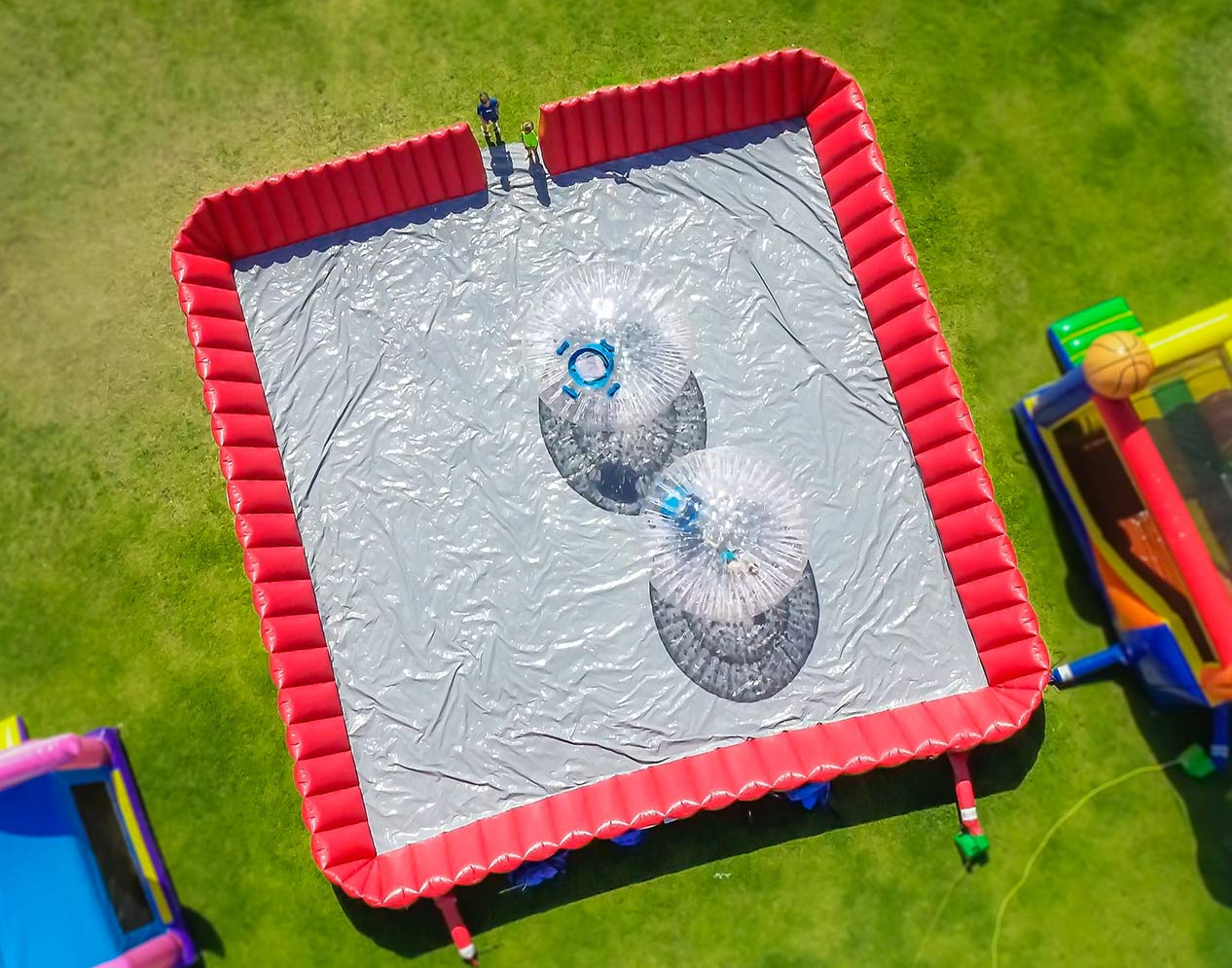 Zorb Party Rentals for Hire