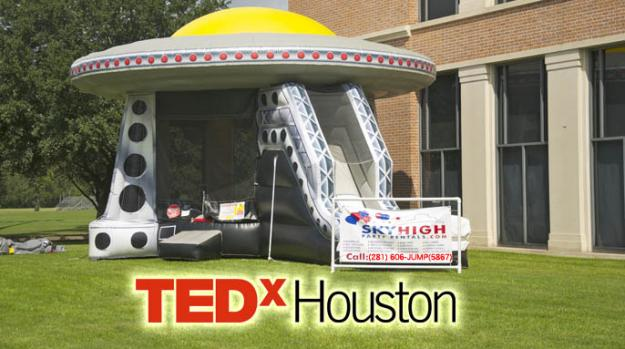 Sky High Party Rentals is sponsoring the fourth annual TEDxHouston 2013 Conference at Rice University. &