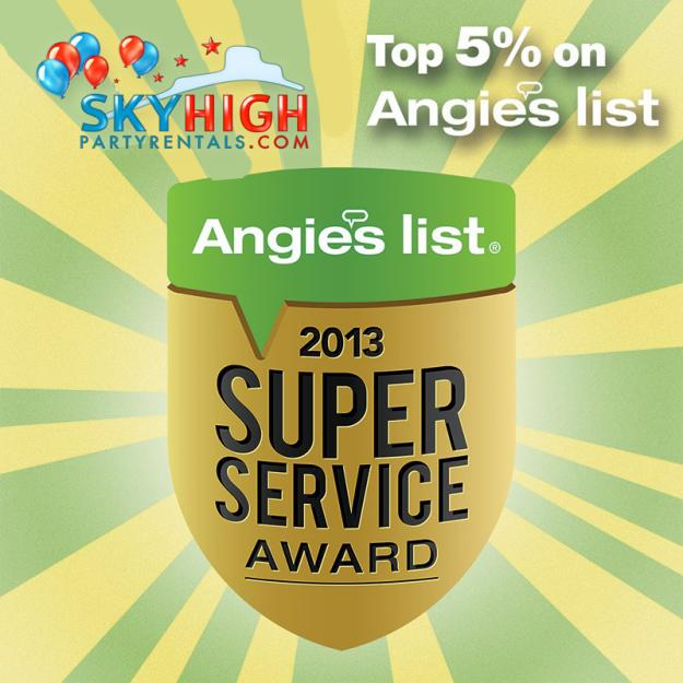 We are honored to receive this years Angie's list super service award!     &nb