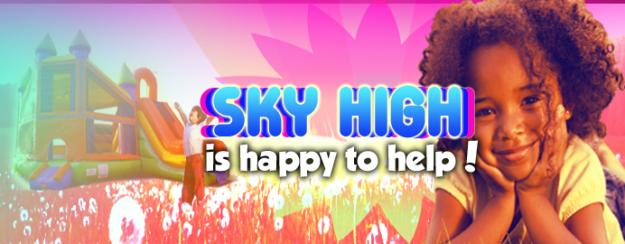 Sky High Party Rentals Sponsorship Opportunities