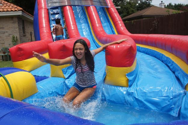 7 Water Slides That Will Turn Your Backyard Into A Water Park